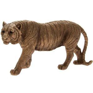 Bronzed Resin Jungle Tiger  Ornament BoxedLP46126