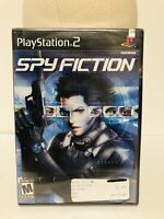 Spy Fiction (Sony PlayStation 2, 2004) Ps2 Factory Sealed NIB Video Game