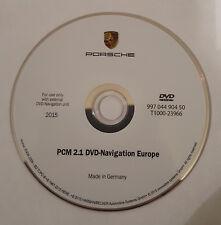 2015-2016 PORSCHE PCM2.1  SAT NAVMAP UPDATE   NAVIGATION DVD DISC