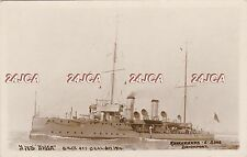 """Royal Navy Real Photo RPPC. HMS """"Niger"""" Minesweeper. Torpedoed off Deal.  1914"""