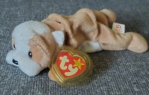 TY 1996 Wrinkles Beanie Baby Very Rare Retired Errors in Poem and Tush Tag