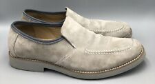 Hush Puppies Reminisce Light Gray Suede Mens Loafers Size 9.5M