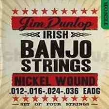 Jim Dunlop DJN1236 Djn1236 Banjo-Nkl Irish-4/Set