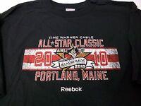 AHL hockey All Star Classic 2010 PORTLAND MAINE SHIRT XL Carlson Neuvirth NEW