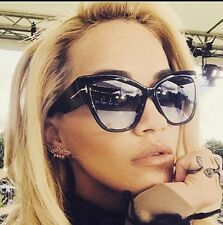 Very Popular Oversized Big Glasses Ladies Cat Eye Sunglasses Latest Fashion 2017
