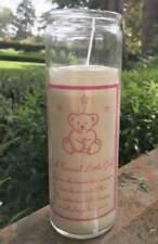Special Little Girl memorial candle Grave Garden Memory Verse DF16761LG