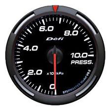 Defi Racer Gauge 60mm Pressure Meter DF11606 White