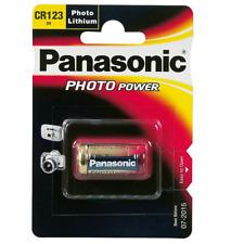 50x Panasonic cr123a cr123 cr17345 batería de litio 3 V 1400 Mah