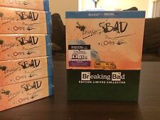Breaking Bad Complete Series Blu-Ray Limited Edition Ralph Steadman- Region Free