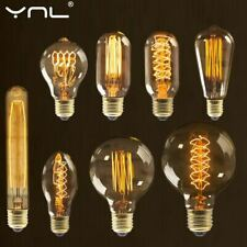 Retro Vintage Edison Bulb E27 40w 220v Ampoule Vintage Bulb Edison Lamp Filament