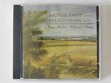 CD Michael Knapp Ilse Schumann Franz Schubert Wolfgang Nening