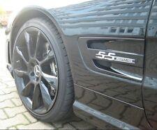 2 Stück Mercedes Benz Schriftzug Emblem 5.5 AMG NEU Selbstklebend aus Metall