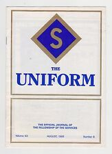 Uniform – Journal of the Fellowship of the Services – 1988 – Army Navy RAF