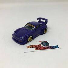 RWB Porsche 930 w/ Rubber Tires * Hot Wheels LOOSE 1:64 Diorama * F1734