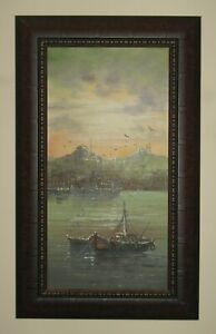 Istanbul View Oil Painting
