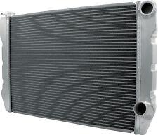 ALLSTAR RACING RADIATOR DOUBLE PASS ALUMINUM CHEVY 19X28 UNIVERSAL INLET 30036