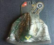 NWT Realtree Xtra Camo Beanie Hat Hot-Shot, Mustang  Heat Factor 3 One-Size