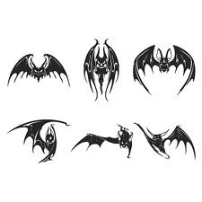 BATS CLIPART IMAGES -VECTOR CLIP ART -VINYL CUTTER PLOTTER & EPS GRAPHICS CD