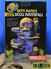 Zoo Med Repti Rapid LED Skull Waterfall SMALL - Beautify & Light Your Terrarium
