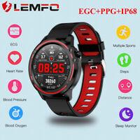 LEMFO L8 sports smartwatch ECG heart rate blood pressure monitor Étanche Montre
