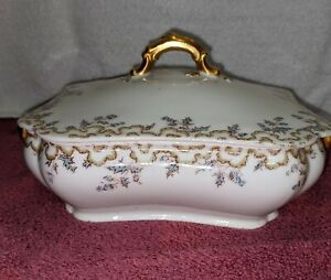Haviland And Co Limoges Covered Casserole Dish