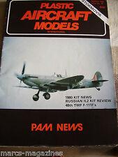 PAM PLASTIC AIRCRAFT MODELS # 38 STORMOVIK 48TH TWF F111 RUSSIAN IL2