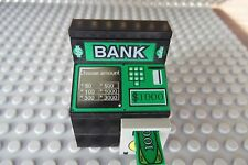 "LEGO Minifig Delux ATM Bank Money Machine Cash Box Safe with Word ""Bank"""
