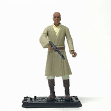 "3.75""  Star Wars 1:18 Jedi Council Master Mace Windu Figure Collection"