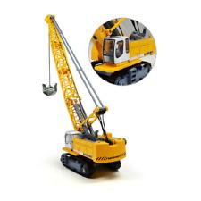 1:87 1891 Liebherr Track Excavator Tower Crane Alloy Engineering Diecast Model