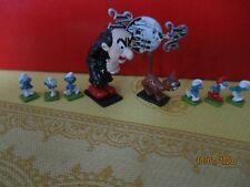 mini pixi peyot gargamel azrael schtroumpfs, figurines
