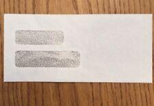 "Double Window Envelopes 4-1/8x9"", Security Tint 500/bx 0000771C"