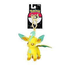 Pokemon Eeveelution Leafeon Clip-On Plush Keychain