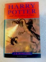 ''Harry Potter and The Goblet of Fire''  SIGNED J.K.ROWLING 1st/1st