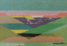 Jacques VILLON (1875-1963) Original Mourlot Lithographie : Le Grands Fonds