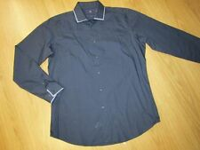 Patternless NEXT Slim Collared Casual Shirts & Tops for Men