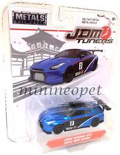 JADA JDM TUNERS 14036 2009 NISSAN SKYLINE GT-R R35 BEN SOPRA 1/64 #1 BLUE
