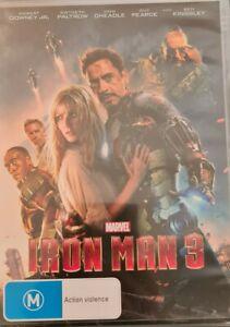 Iron Man 3 - Robert Downey Jr. - Gwyneth Paltrow - DVD
