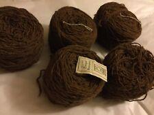 5 Balls Donegal Scoured Homespun Yarn for Tahki Imports - 200 Yards per Ball