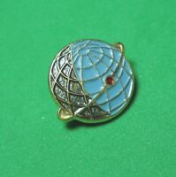 USSR Vintage Soviet Russian Space pin badge Earth satellite