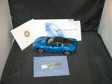 Franklin Mint 2009 Corvette Zr-1 Scale:1:24 No Box Blue Sold As Parts (Mirrors)