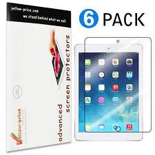 6x Ultra Clear LCD Screen Protector Guard Skin for Apple iPad mini 1 2 3 Gen