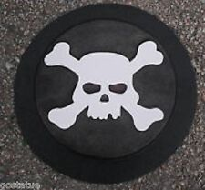 Skull halloween stepping stone plastic mold mould