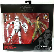 "STAR WARS BLACK SERIES 6"" POE DAMERON & FIRST ORDER RIOT CONTROL STORMTROOPER"