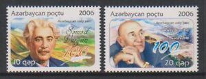 Aserbaidschan - 2006, Writers Geburt Centenaries Set - MNH - Sg 638/9