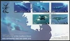 ROSS DEPENDENCY MNH 2010 Whales Limited Edition,Signed FDC