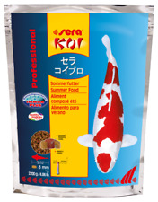 Sera KOI Professional Sommerfutter 2200g Teichfutter Koifutter