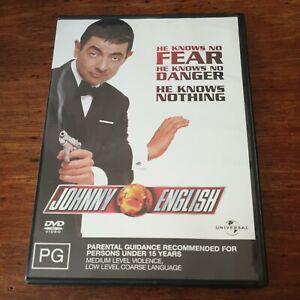 Johnny English  DVD R4 Like New! FREE POST