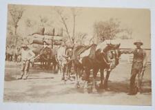 Postcard- Taking Wool to Market - Australian Yesteryear Cards - History