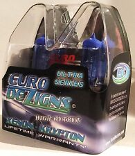 EURODEZIGNS ULTRA Cool Blue REPLACES SYLVANIA SILVERSTAR HIGH BEAMS 9005