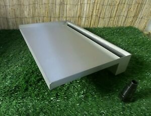 600mm Stainless Steel Waterfall WATER BLADE Cascade 300mm Spout BACK INLET